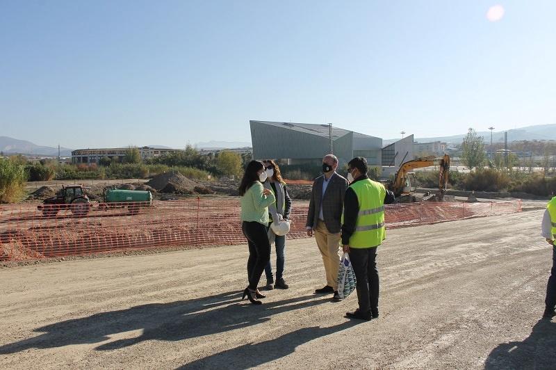 El Ayuntamiento de Lucena inicia la construcción del Parque Europa