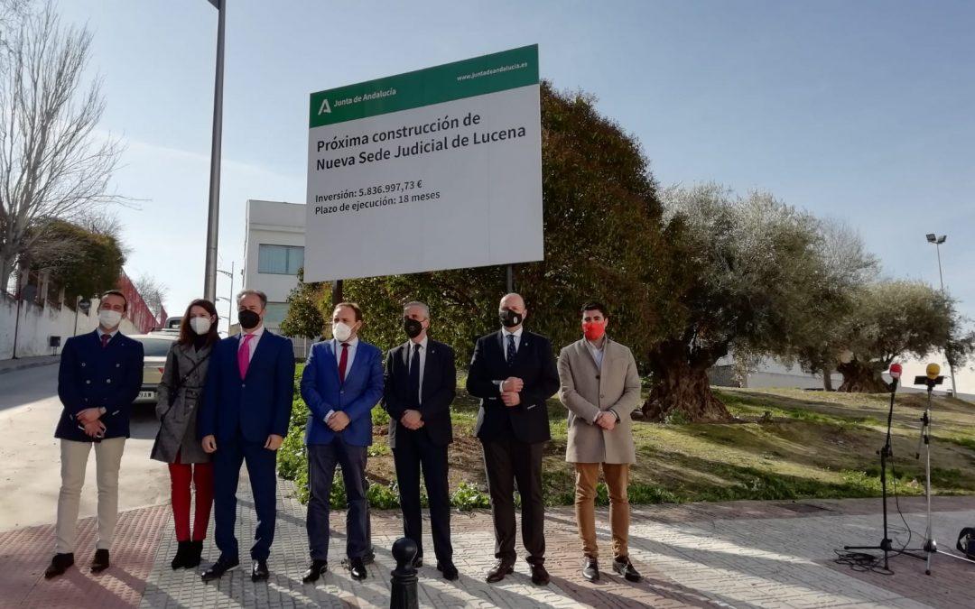 La Junta anuncia la licitación de la nueva sede judicial por 5,8 millones de euros