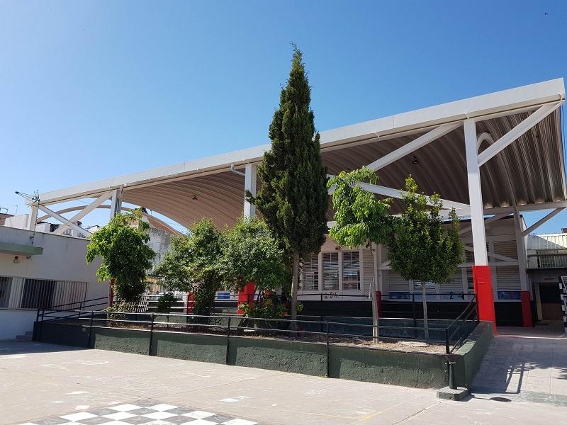 Finalizada la cubrición de la pista escolar del CEIP San José de Calasanz
