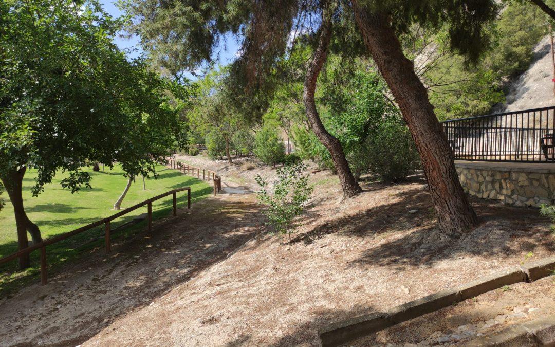 El Ayuntamiento de Lucena ampliará en Jauja los jardines en el entorno del río Genil