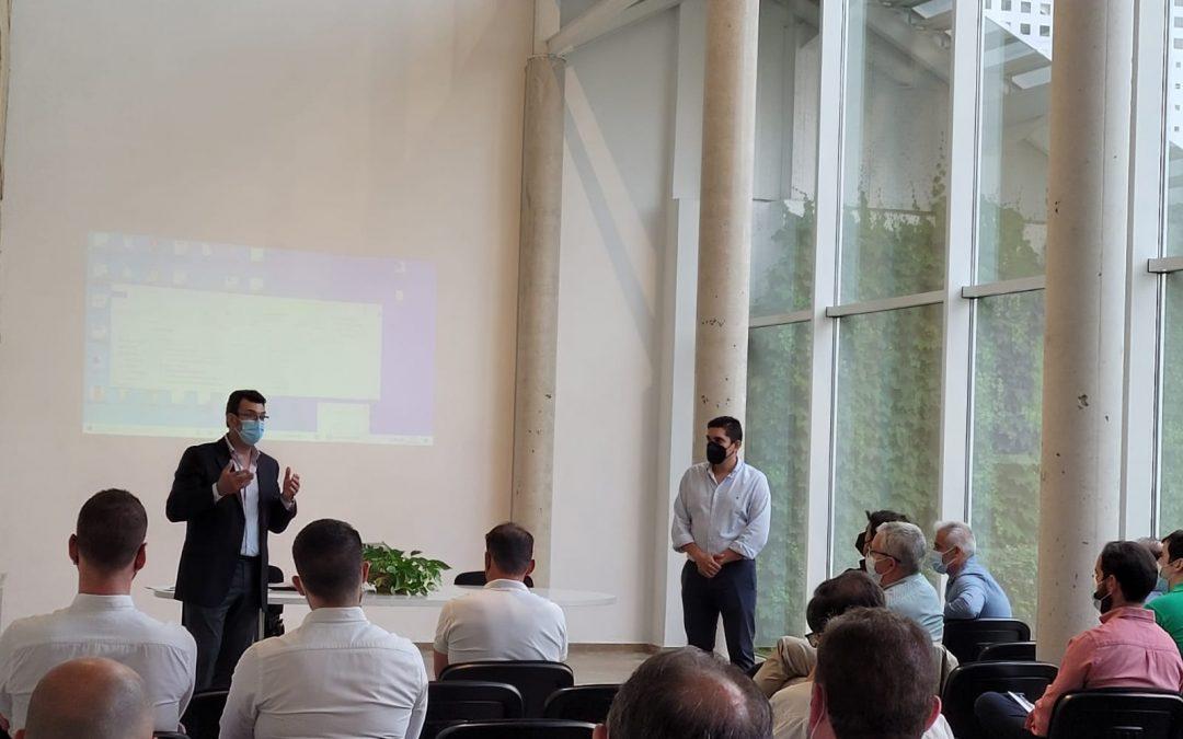 El Ayuntamiento de Lucena y el sector  local del mueble analizan la presencia en SURMUEBLE 2021