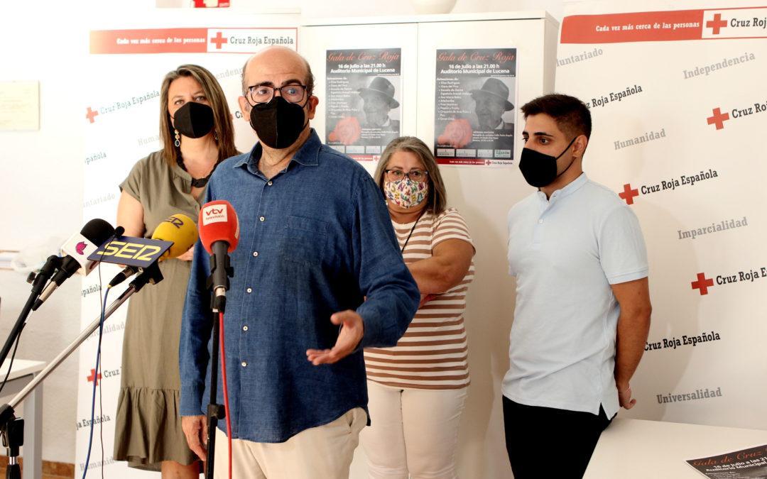 Cruz Roja ofrece una gala de homenaje a la población mayor de Lucena