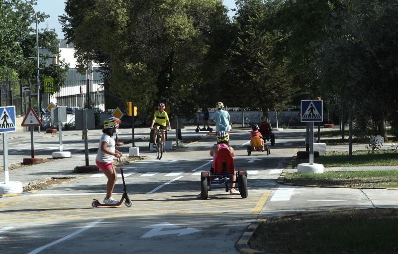 El Parque Infantil de Tráfico de Lucena inicia nueva etapa como recurso para la educación vial
