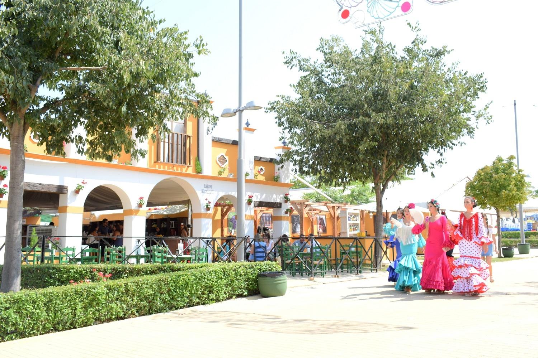 recinto ferial durante una edición pasada de la Feria del Valle