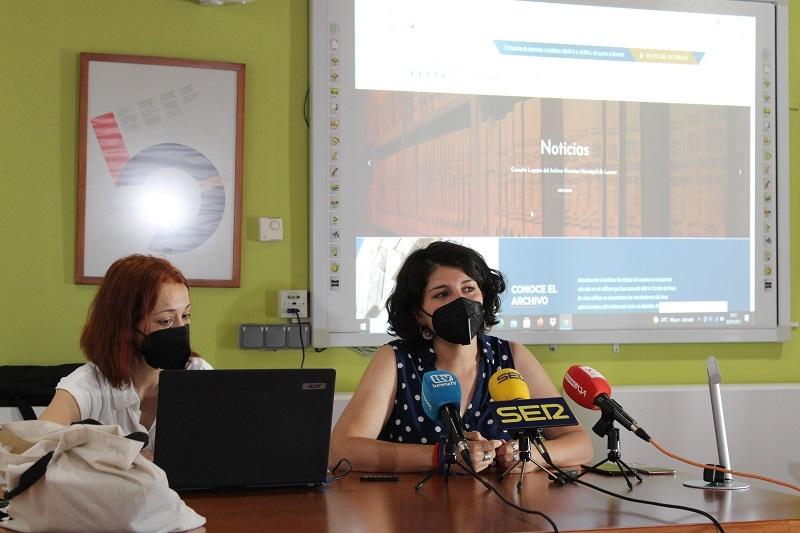 El Archivo Histórico Municipal de Lucena estrena portal web
