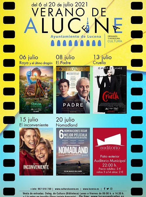 Regresa el cine de verano de Lucena con una cartelera familiar