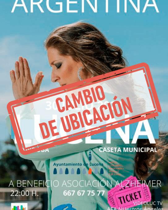 Argentina traslada mañana su concierto a la Ciudad Deportiva