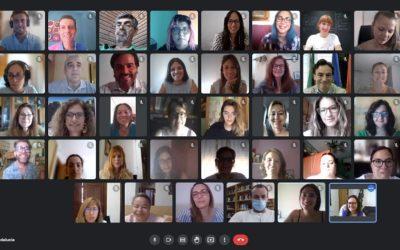 Videoconferencia con participantes de las Lanzaderas Conecta Empleo de Granada, Jaén y Lucena