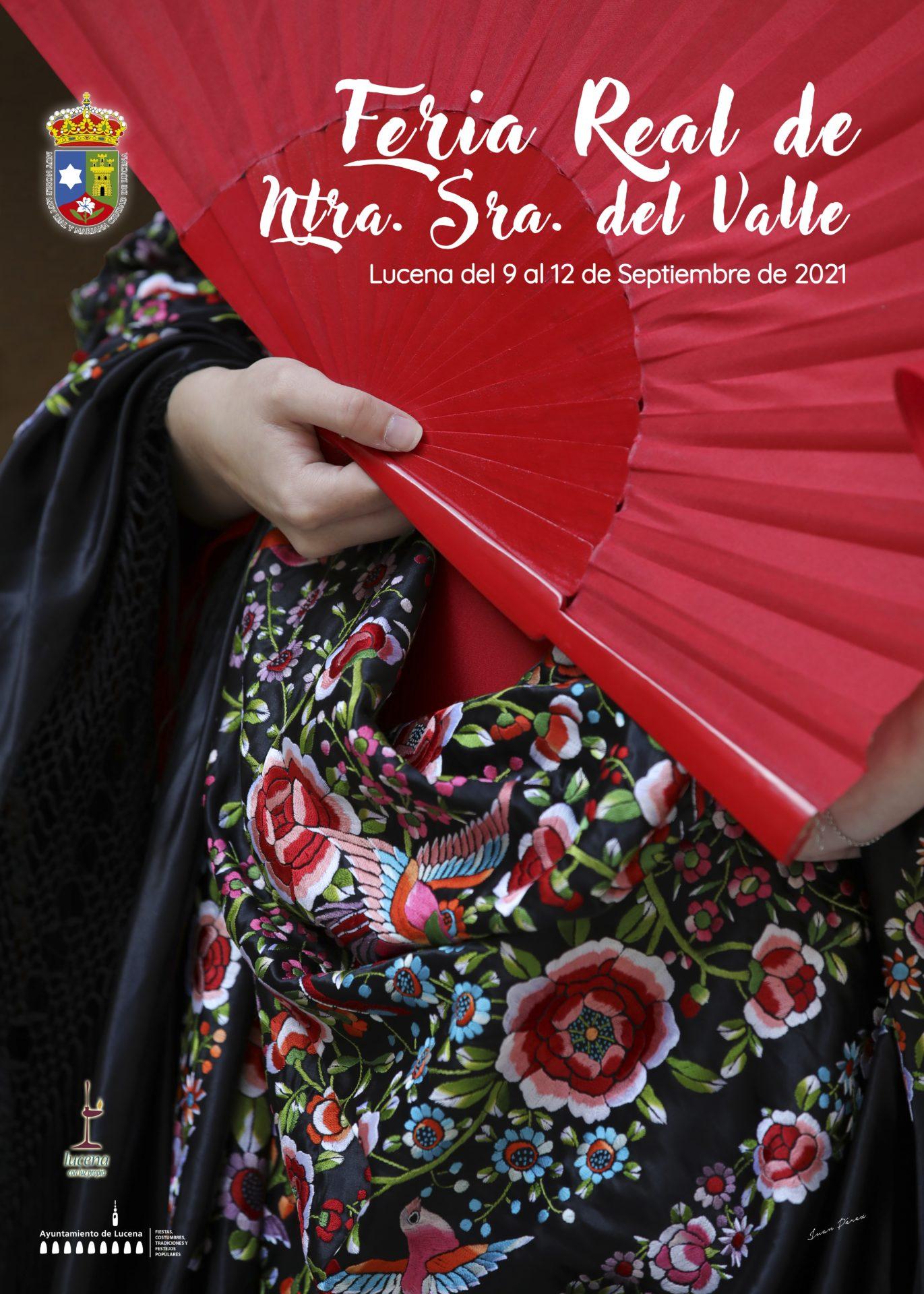 Cartel de Juan Pérez que anunciará la Feria del Valle 2021.