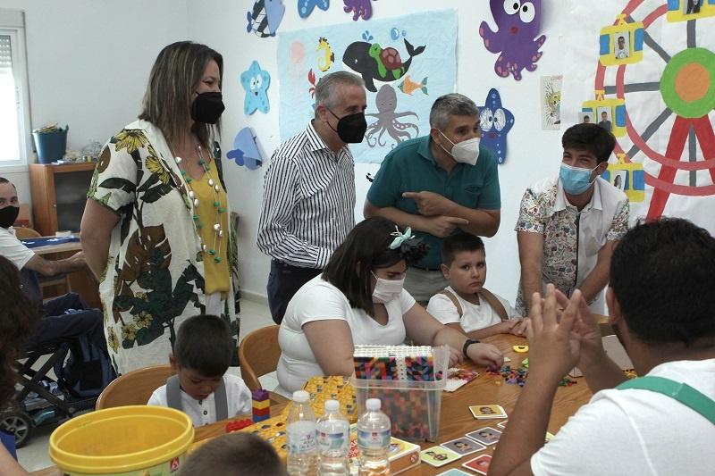 La ludoteca para menores con necesidades especiales tendrá continuidad durante el resto del año
