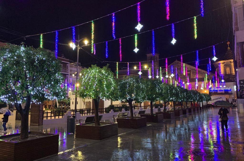 El Ayuntamiento de Lucena saca a licitación el alumbrado extraordinario de sus fiestas y ferias para los dos próximos años