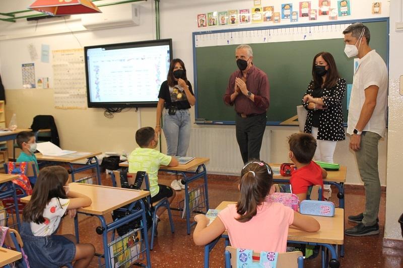 4.275 escolares de Lucena recuperan este lunes sus clases