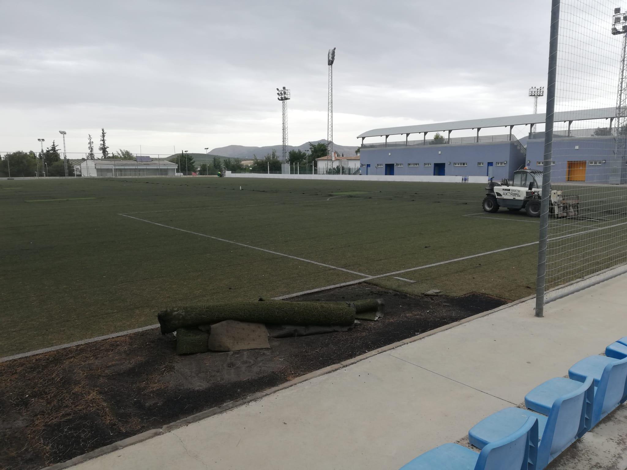 Inicio de los trabajos en la Ciudad Deportiva