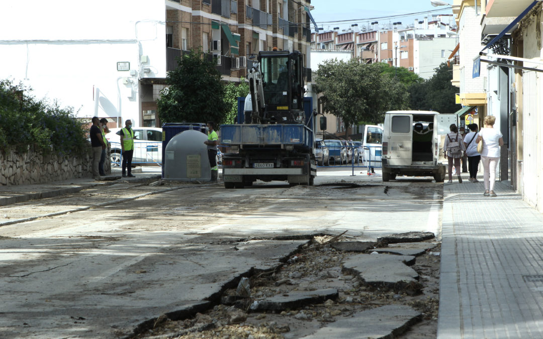 El Ayuntamiento de Lucena adjudica por la vía de emergencia la reparación de daños ocasionados por la tormenta